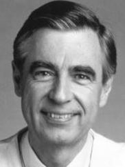 Mr. Rogers - one of the helpers.